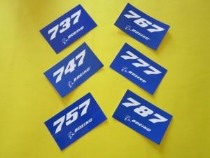 737-747-757-767-777-787 Stickers