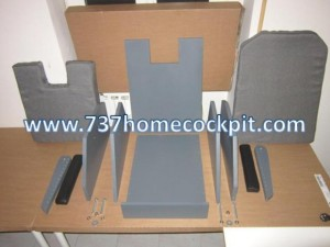 737NG Seat Mounting KIT 1 of 2