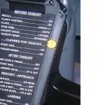 Yoke Checklist Decals