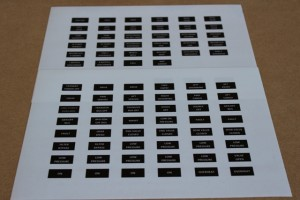 Annunciator Decals 1-2 of 3