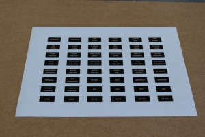 Annunciator Decals 3 of 3