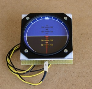 Attitude Indicator Gauges with Octagonal Frame x WEB