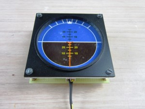 BACKLIGHT DUMMY ATTITUDE INDICATOR