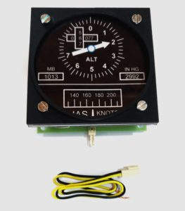IAS + ALTIMETER COMBO GAUGES